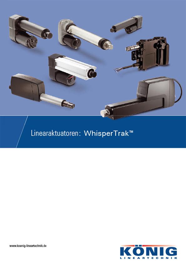 Informations Flyer WhisperTrak TM