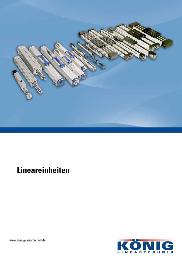 Katalog Lineareinheiten